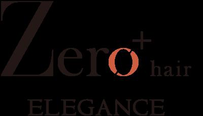 zero hair eleganceロゴ